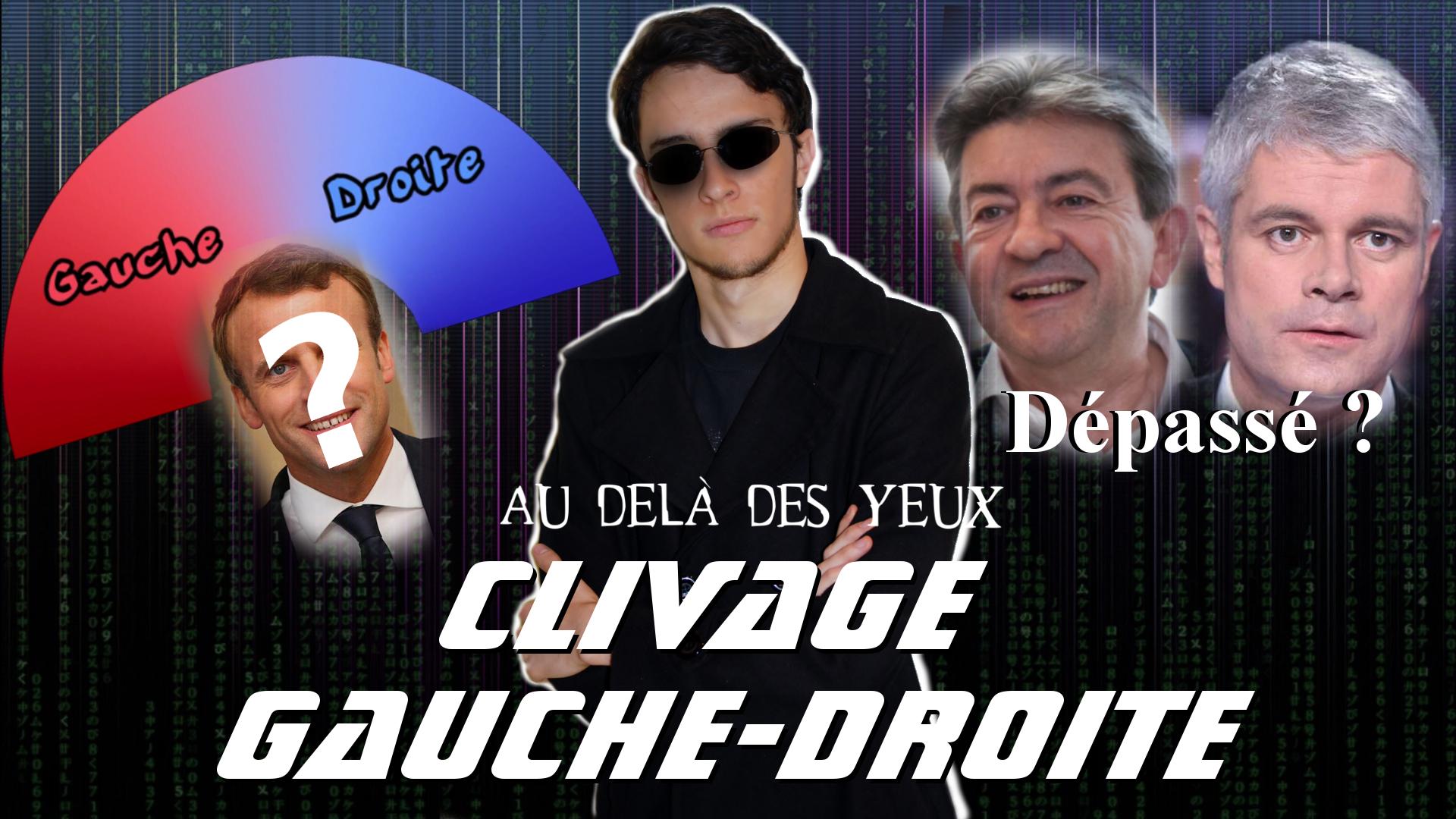 Clivage Gauche/Droite – Au-delà des yeux